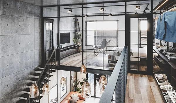 如何装修一个具有时尚先锋范儿的工业风之家
