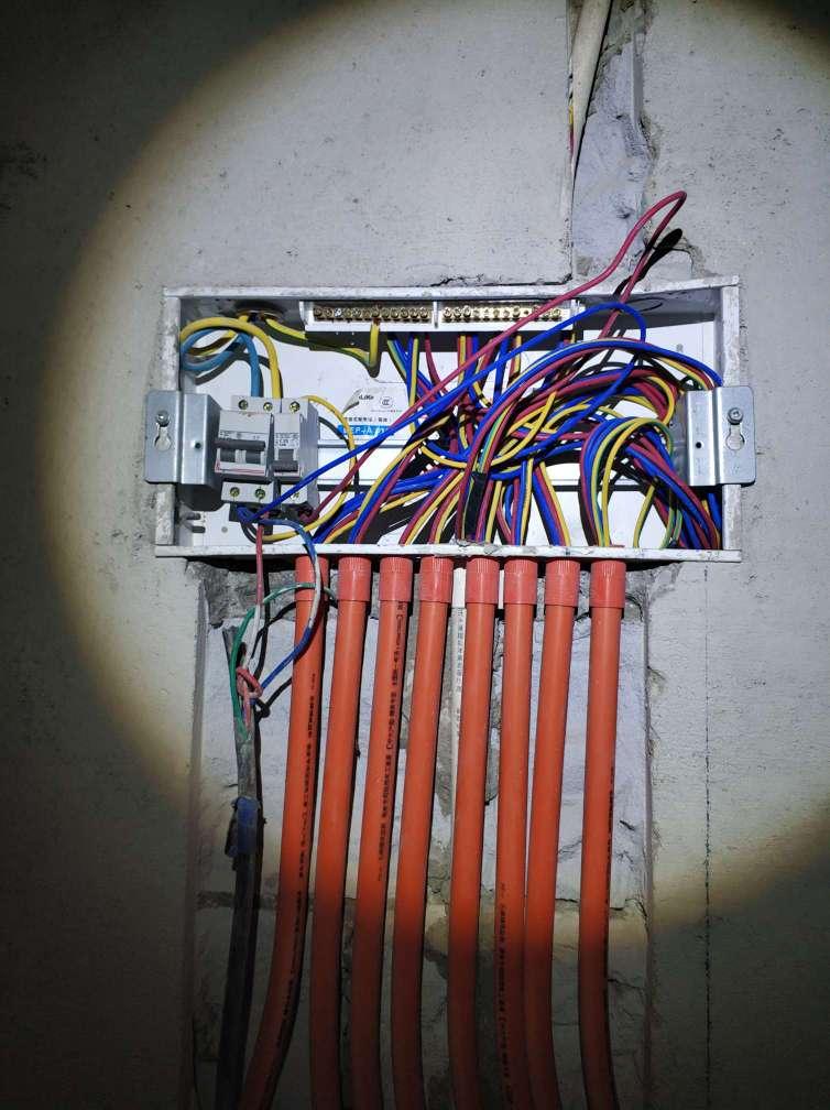 电箱标准电路图