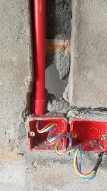皮市巷-水电隐蔽工程阶段验收-2018-09-01