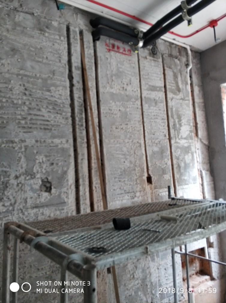 上海圣安德鲁斯庄园-水电隐蔽施工检查-2018-09-08