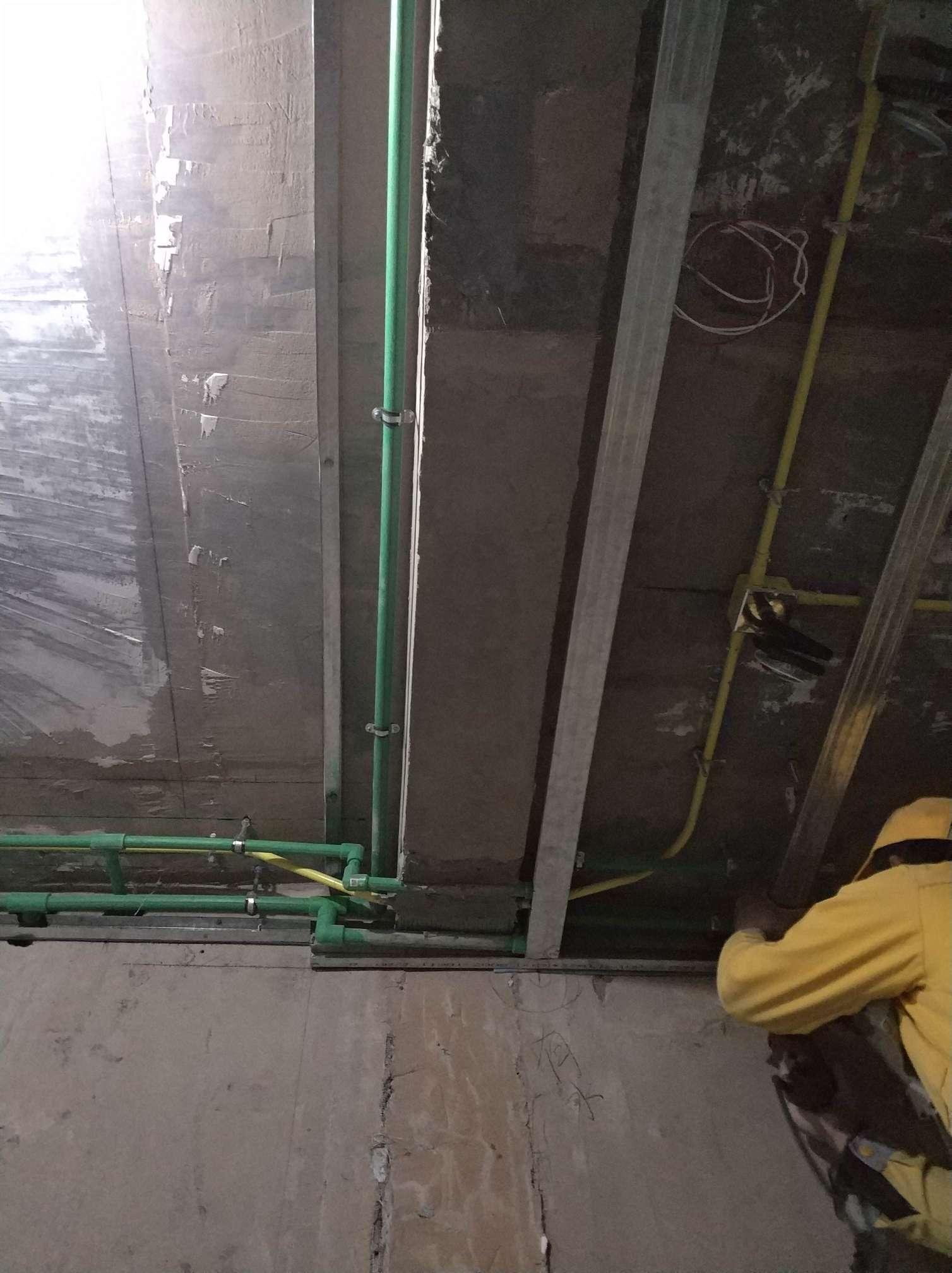 北京双清苑-水电隐蔽施工阶段验收-2018-10-28