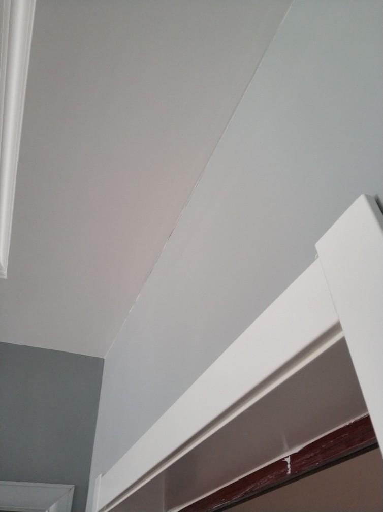 保利清能西海岸小区三号门-墙顶面面层验收-2018-09-02