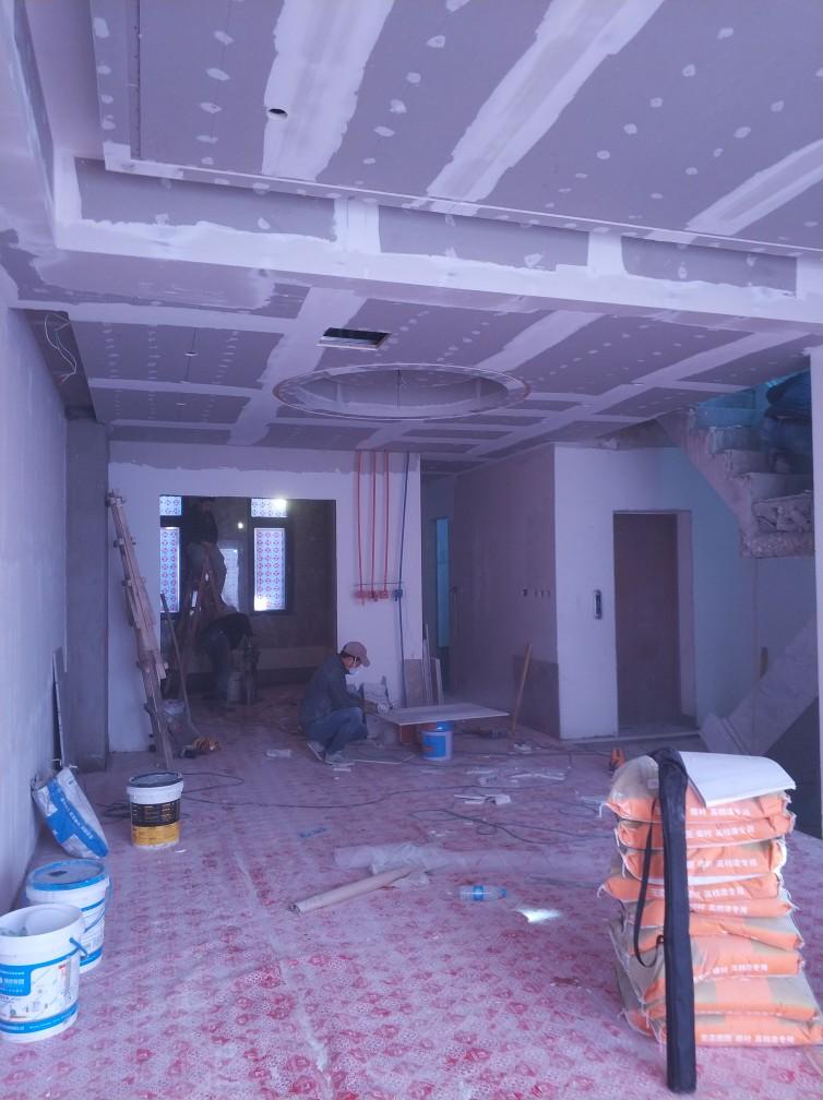 北京泰禾北京院子-泥木表面施工巡查-2018-01-03