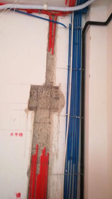 北京泰禾北京院子-水电隐蔽施工巡检-2017-10-25