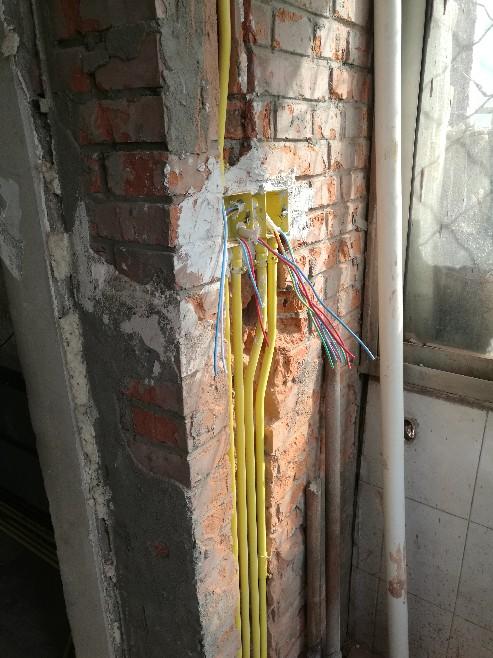 北京中水电国际大厦-水电隐蔽施工巡检-2018-03-26