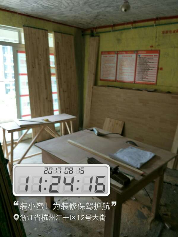 2017-08-15上门监理情况如下:尊敬的业主您好今天上门服务是泥工巡检,己贴墙面平整横竖缝对齐,四角平整,以检查没有发现空鼓,只有橱房间墙面有一块破的,在现场已经和泥工师傅沟通过了,泥工师傅答应马上整改,因贴的地方不多所以没有发现不规范的地方,下次上门服务在一星期左右,