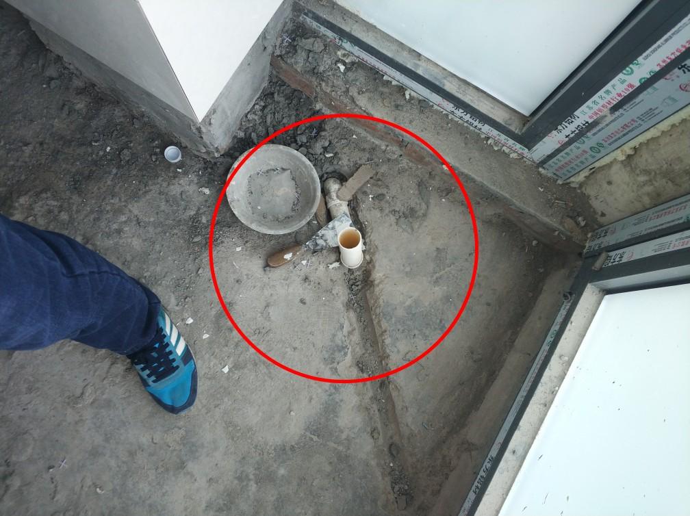 上海绿地公寓-泥木表面施工巡查-2018-03-13