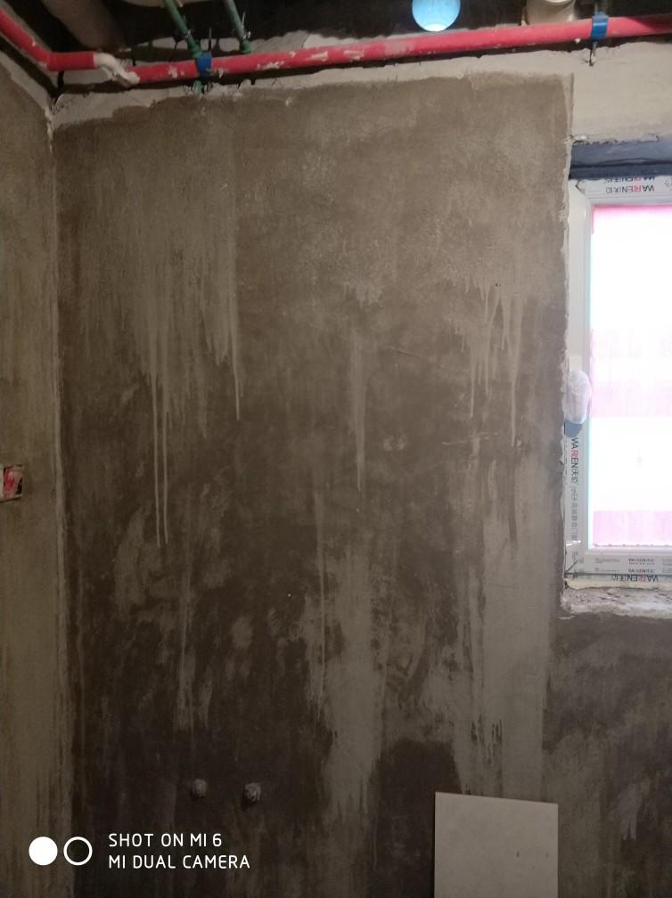 北京观澜国际花园-泥木表面施工巡查-2018-04-12