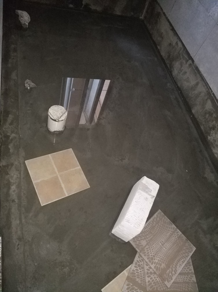 十里玫瑰-泥木表面施工巡查-2018-04-16