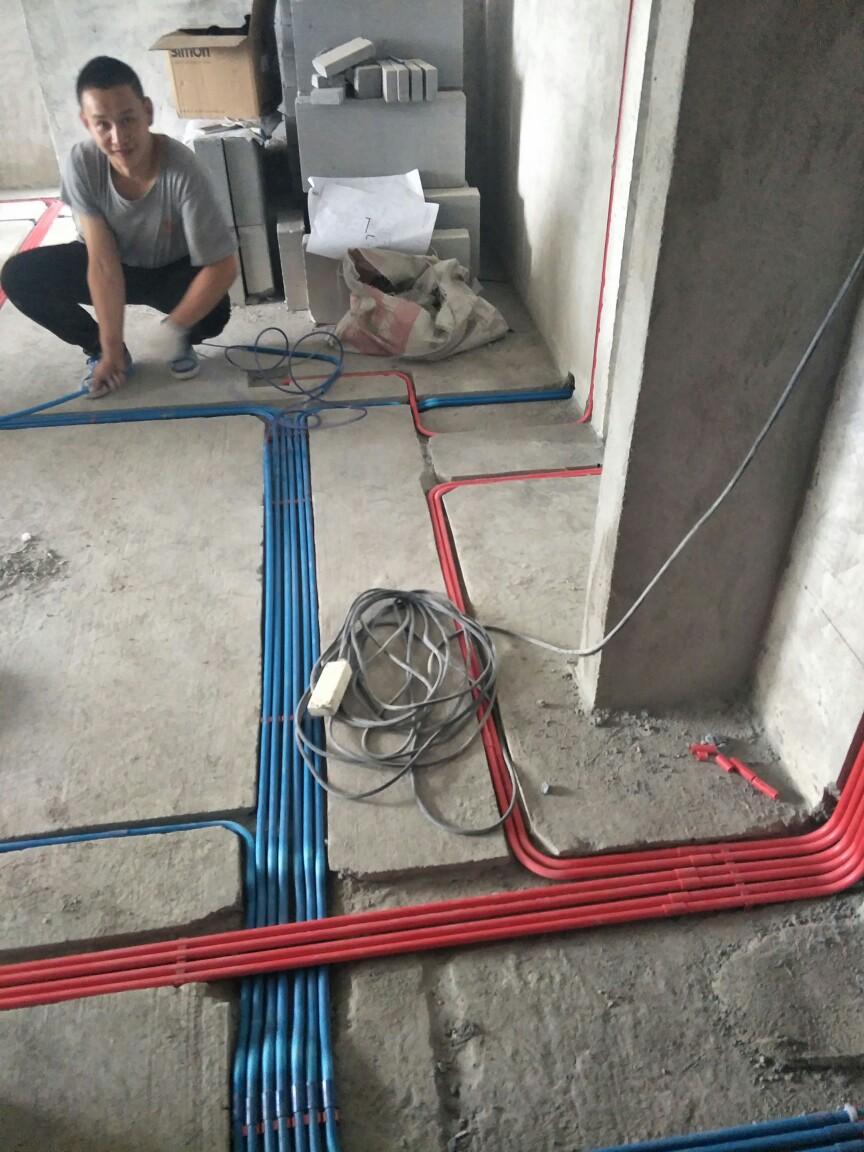 泰跃金河-水电隐蔽施工巡检-2017-09-21